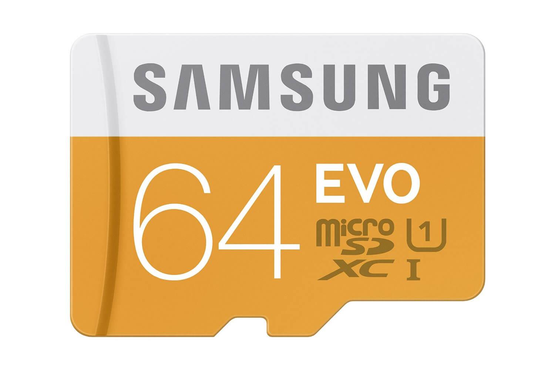 Samsung EVO 64GB MicroSD Card