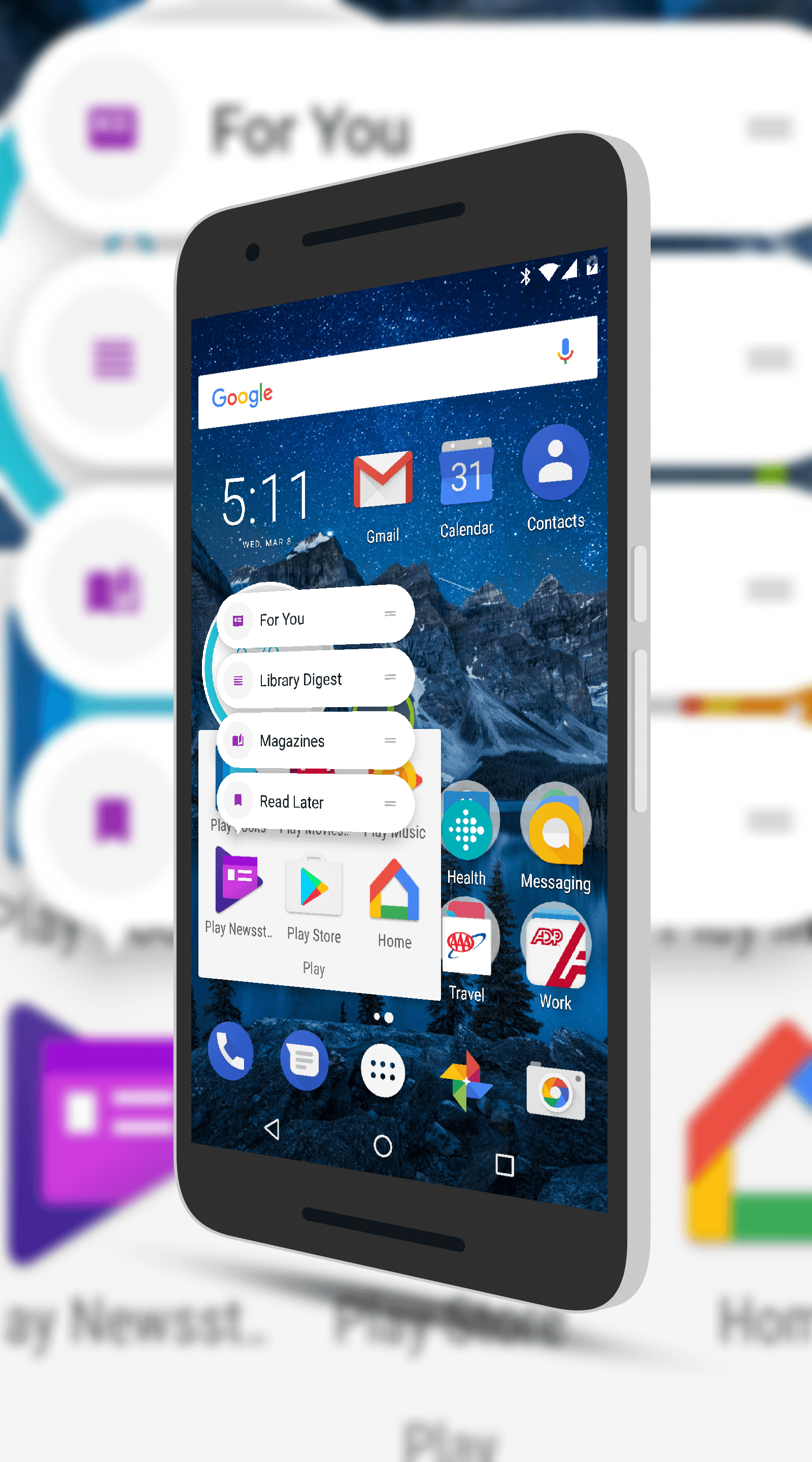 Google Play Newsstand Now Supports App Shortcuts
