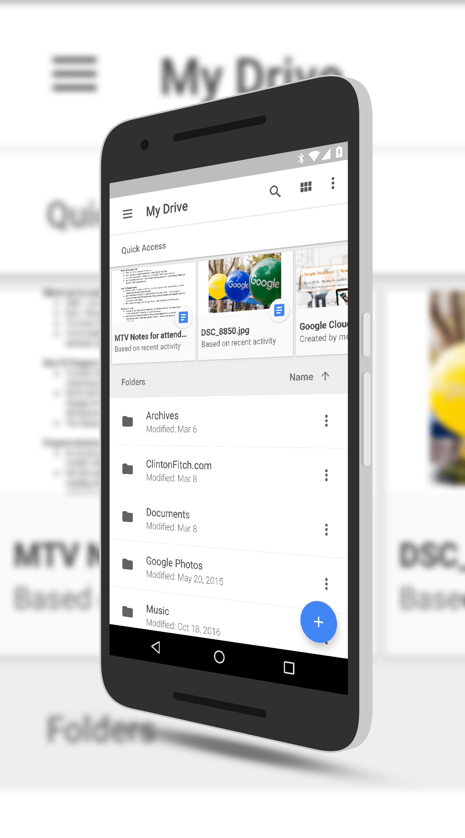 Google Drive Quick Access