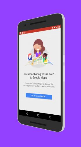 Google+ Location Sharing Shutdown