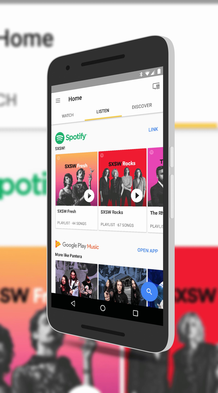 Google Home Update Brings Dedicated Listen Tab