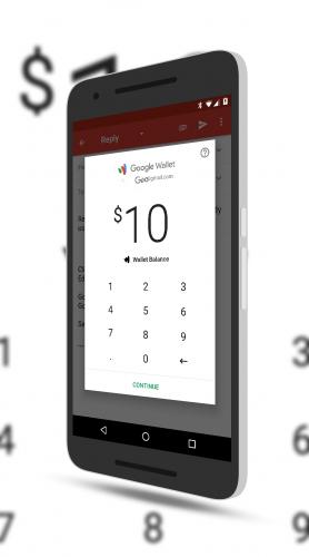 Send Money in Gmail
