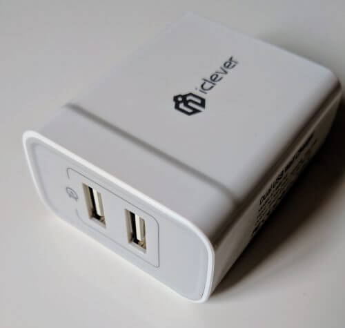 iClever BoostCube 2-Port Charger