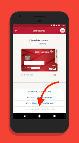 Add Bank Cards to Android Pay