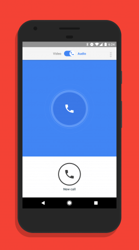 Audio Only Calls in Google Duo
