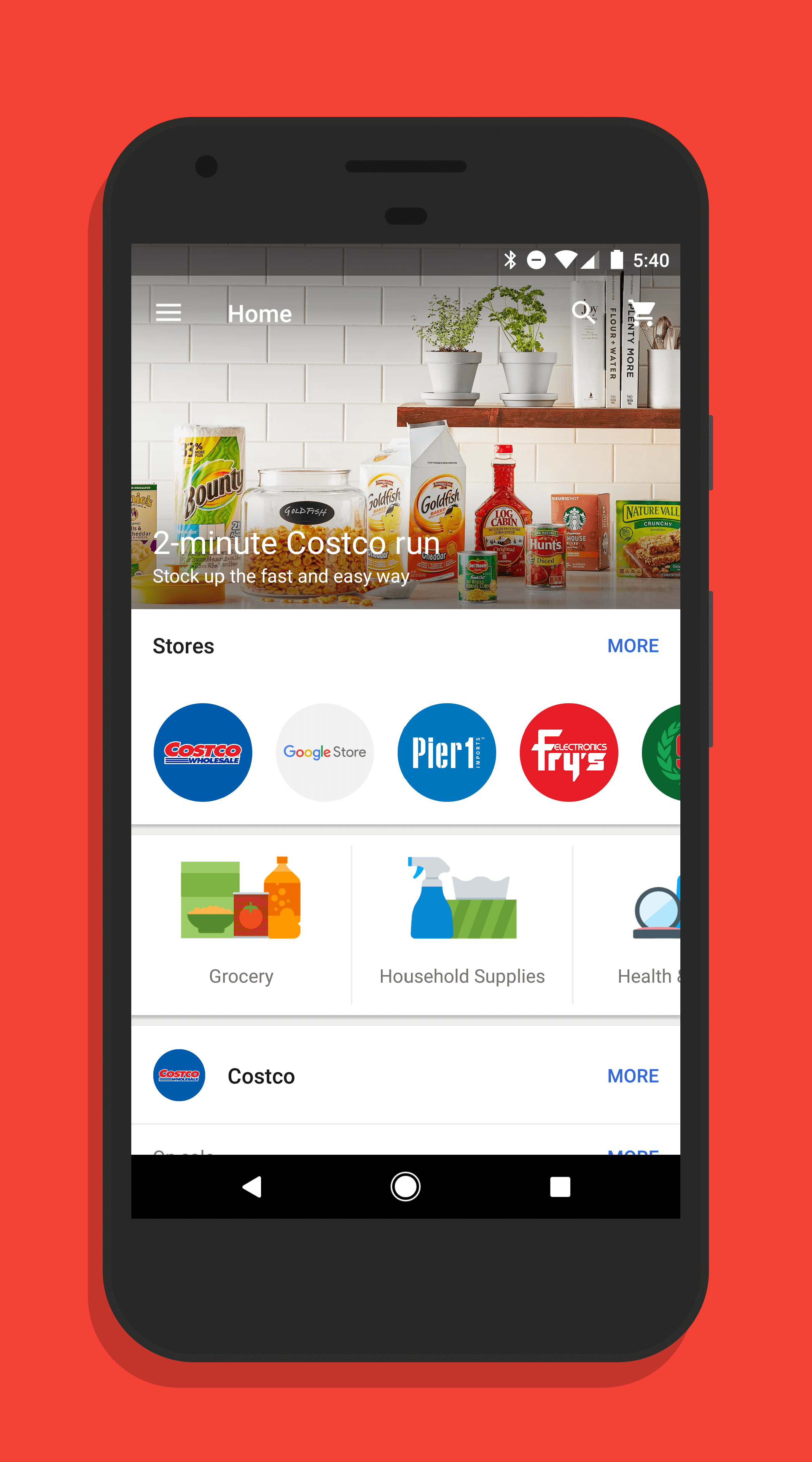 Google Express for Android