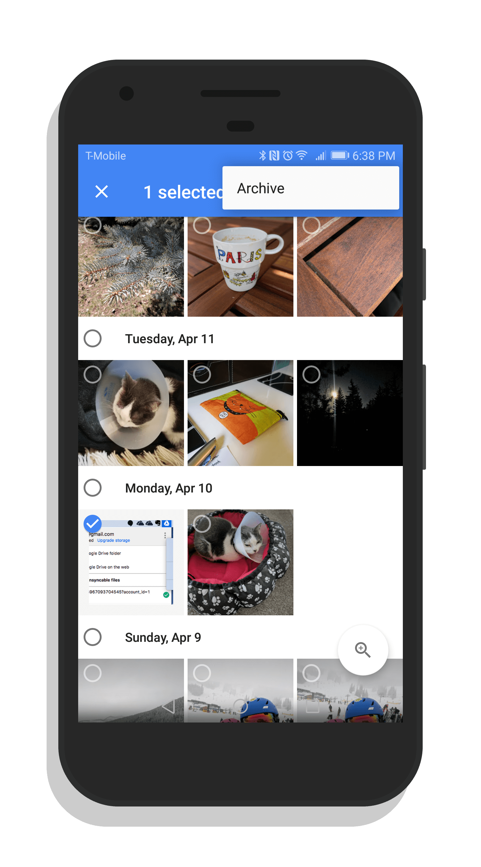 Google Photos Archive Feature