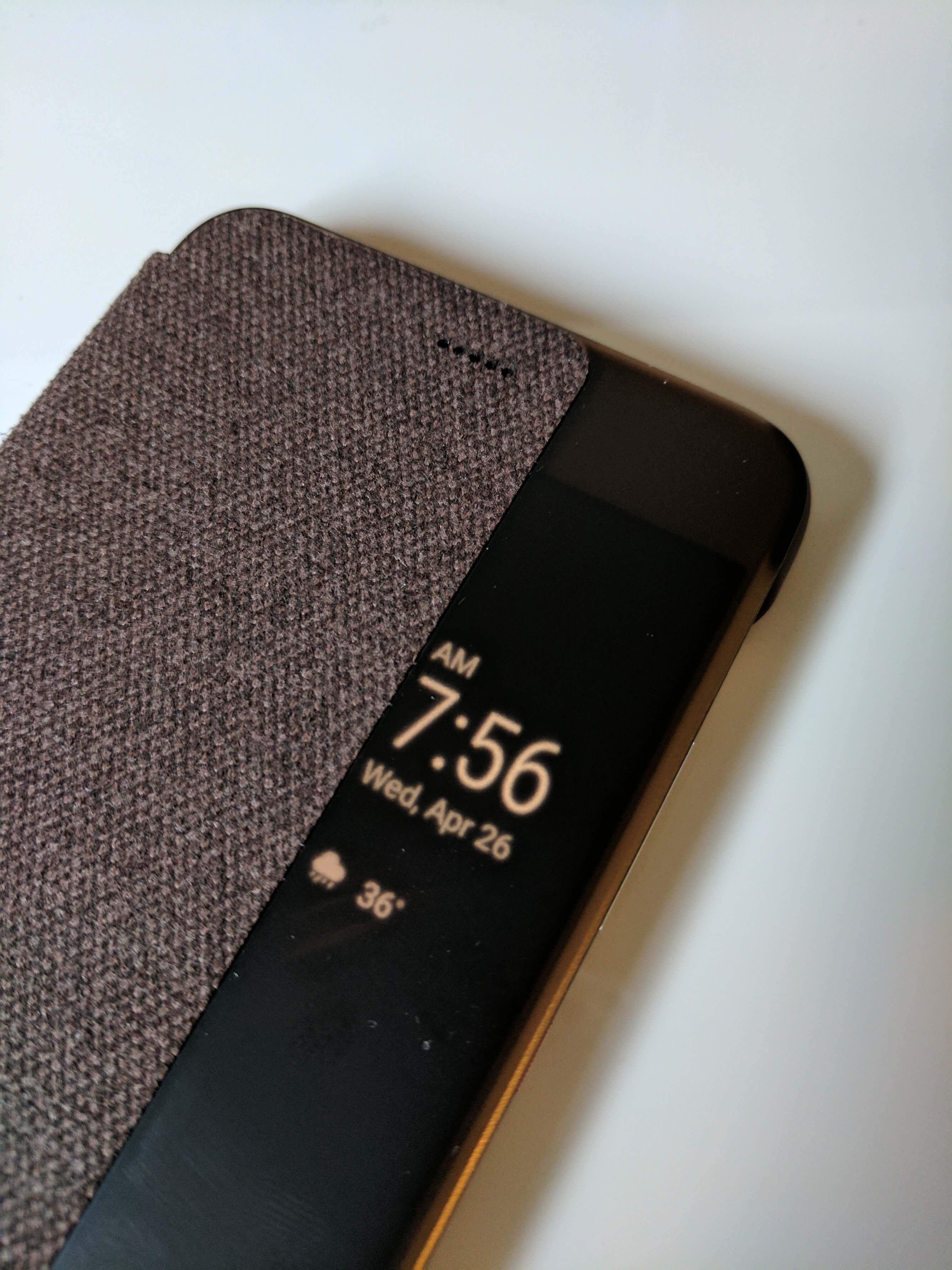Huawei Folio Case Window