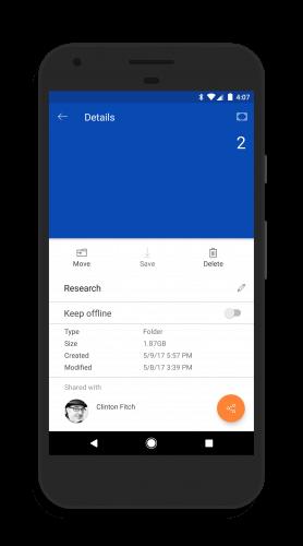 OneDrive Offline Folder Settings