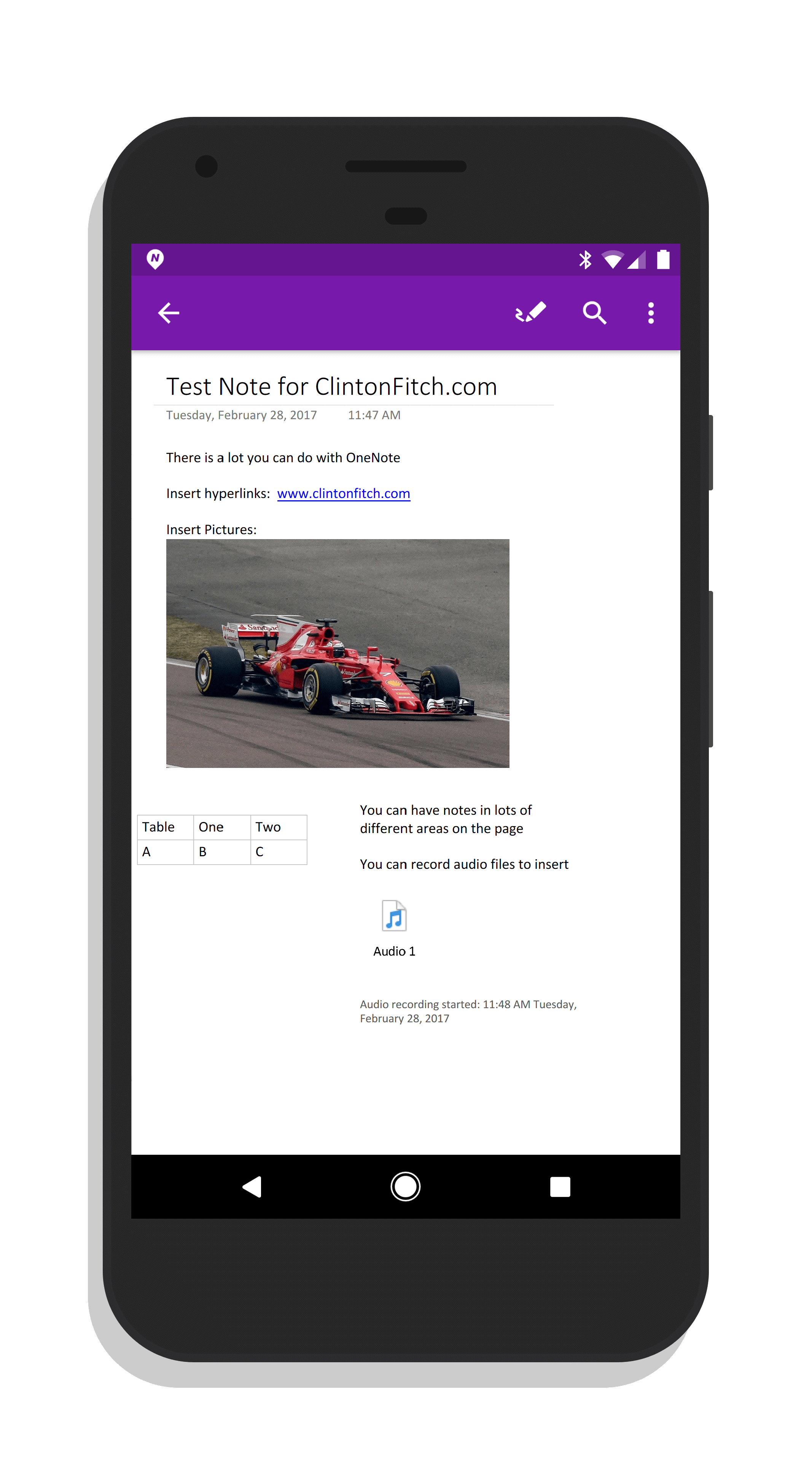 Microsoft OneNote for Android