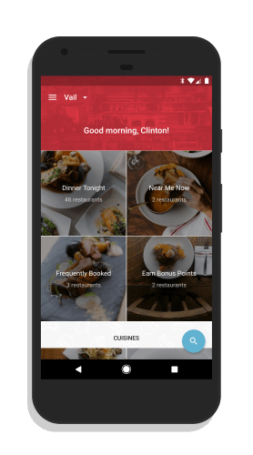 OpenTable for Android