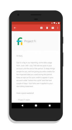 Project Fi Email