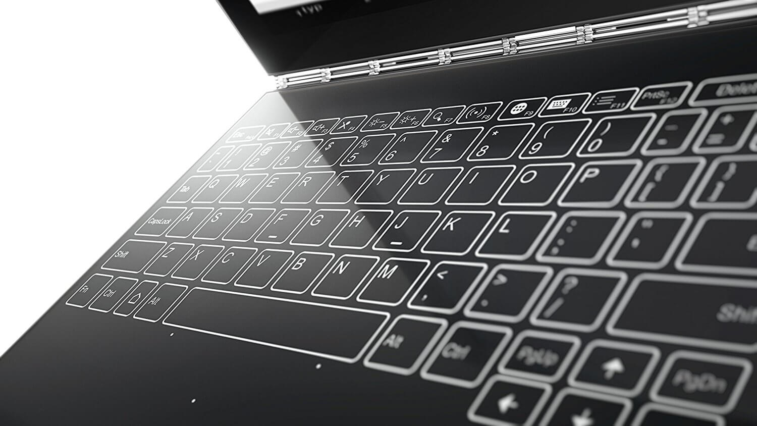 Lenovo Yoga Book Halo Keyboard