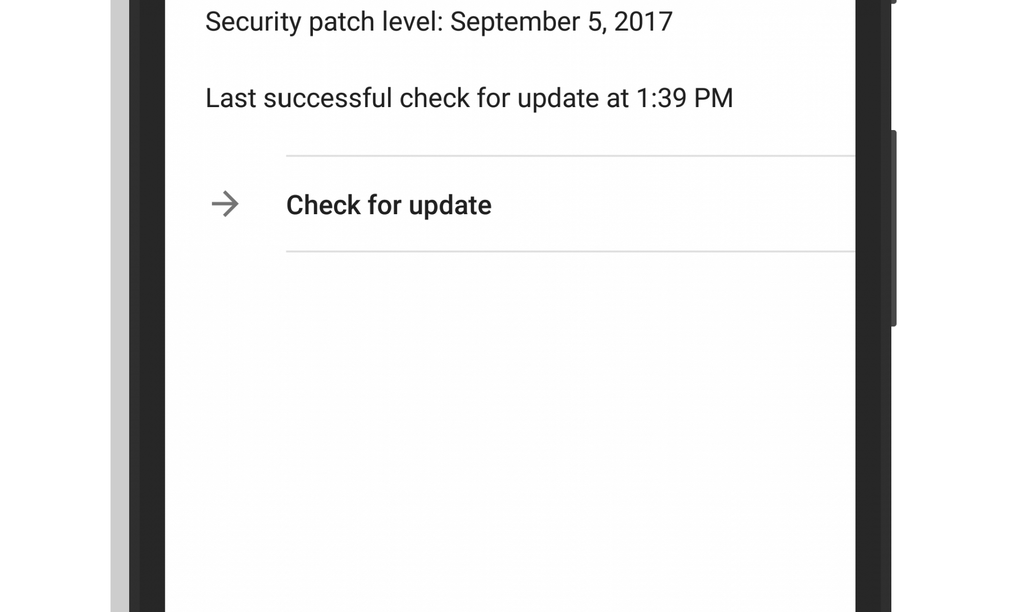 System Updates in Android Oreo