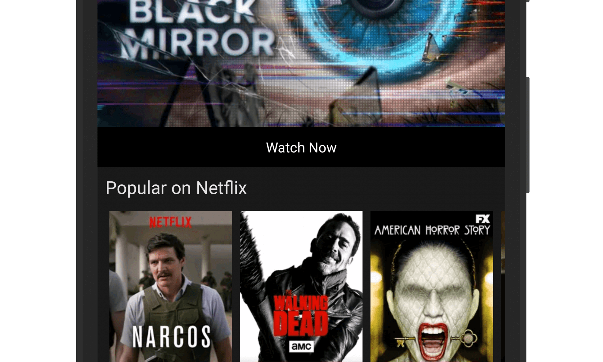 Netflix on Android