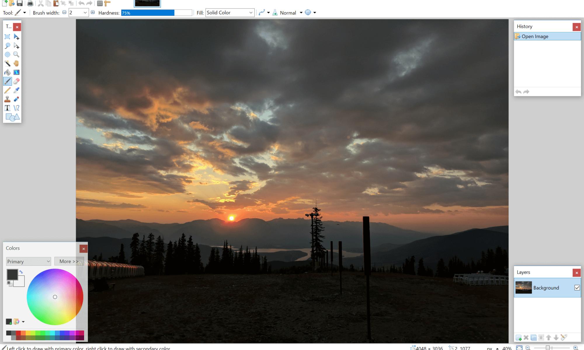 Paint.net for Windows 10