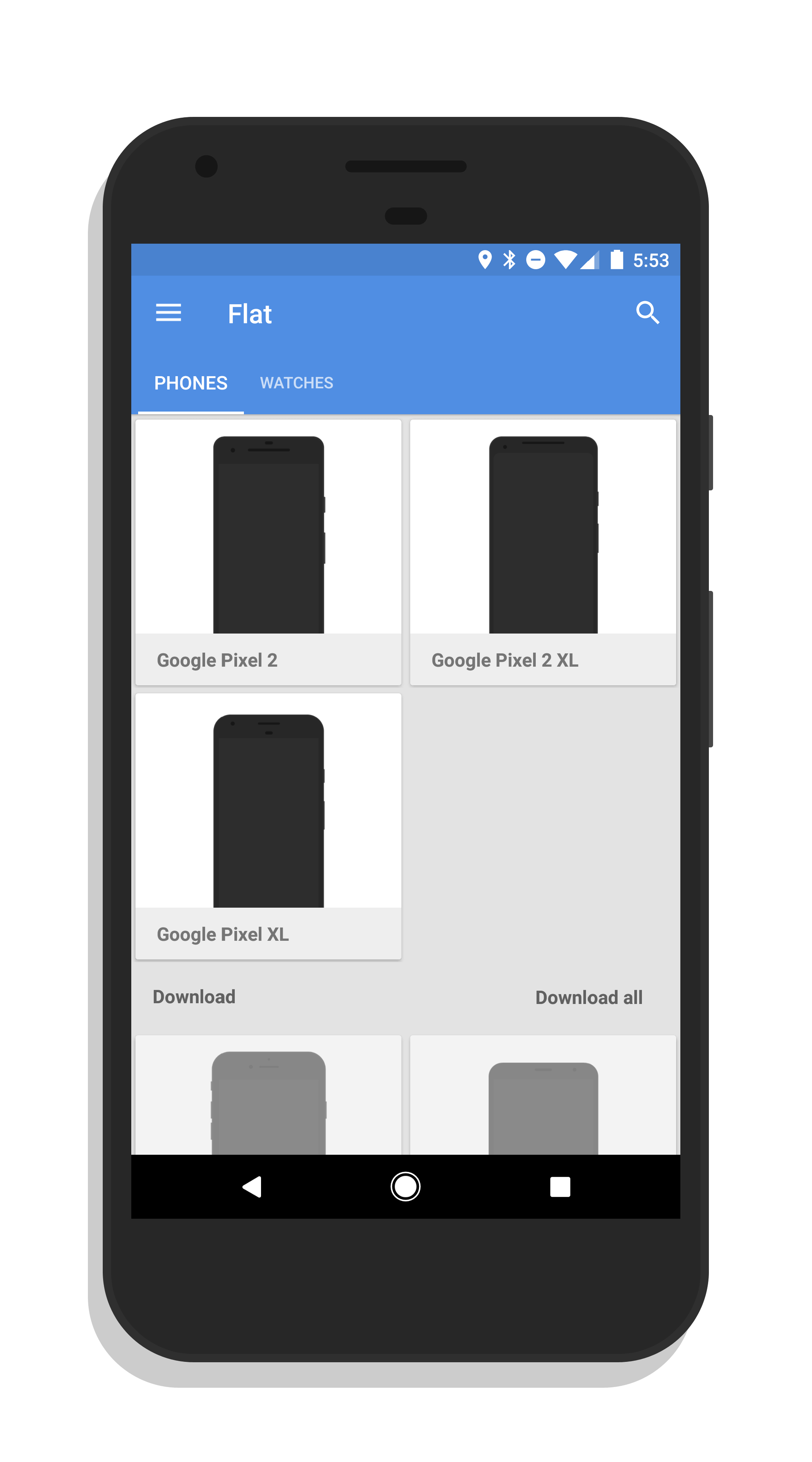 Screener Screenshot App Now has Google Pixel 2 Frames – ClintonFitch.com