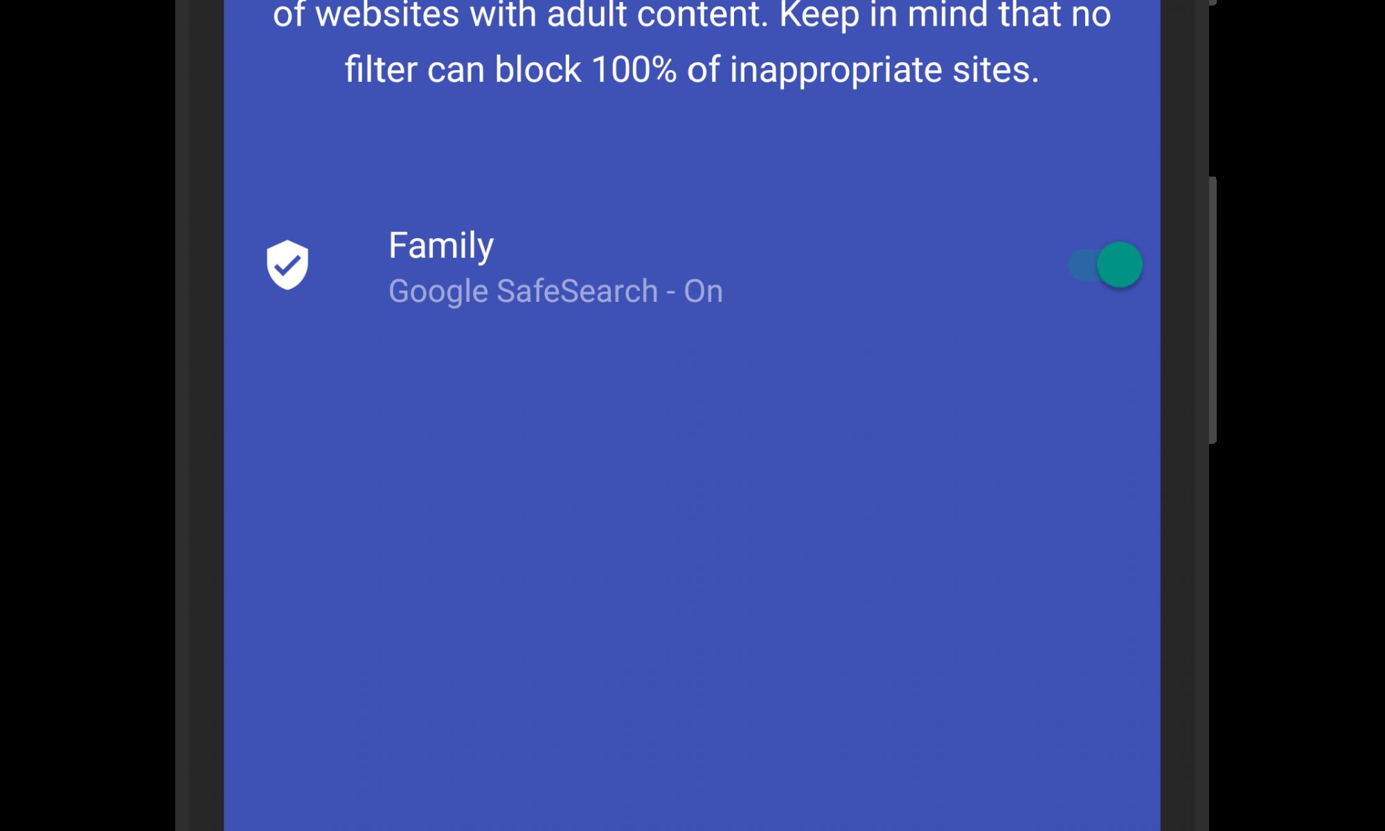 Site Blocking in Google WiFi