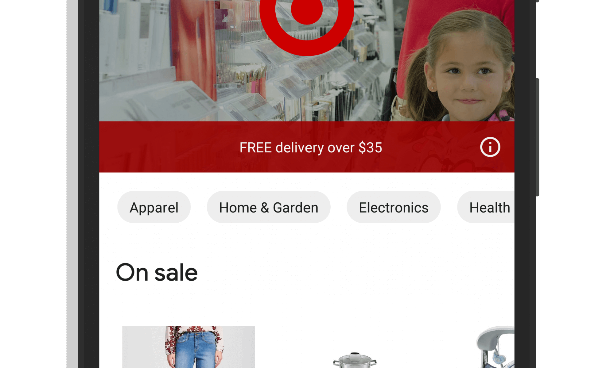 Target Stores in Google Express