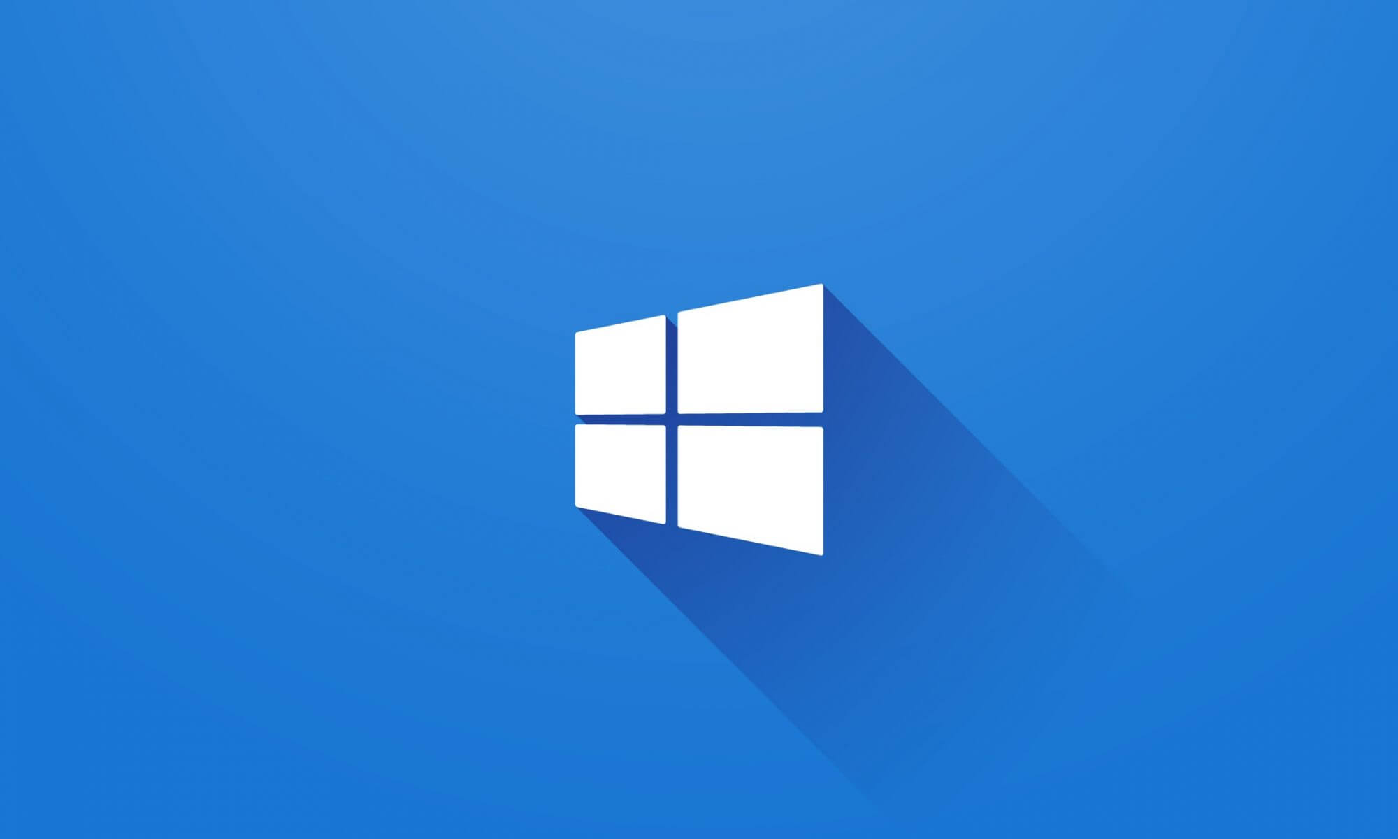Windows 10 Logo Wallpaper