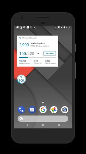 Bing Rewards Widgets