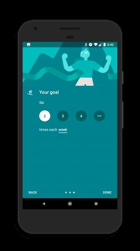Create a Custom Goal in Google Fit