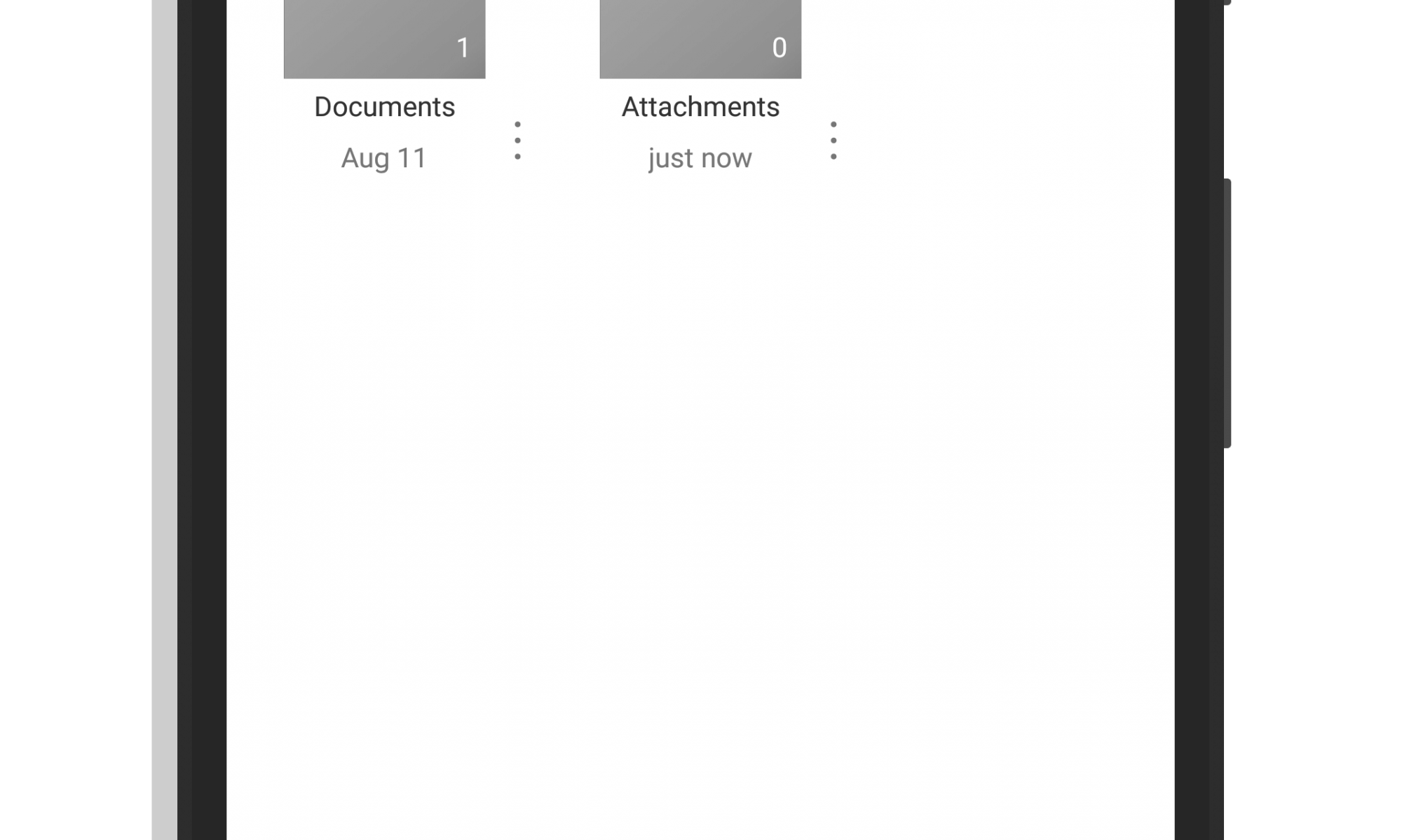 OneDrive for Android Tab Navigation