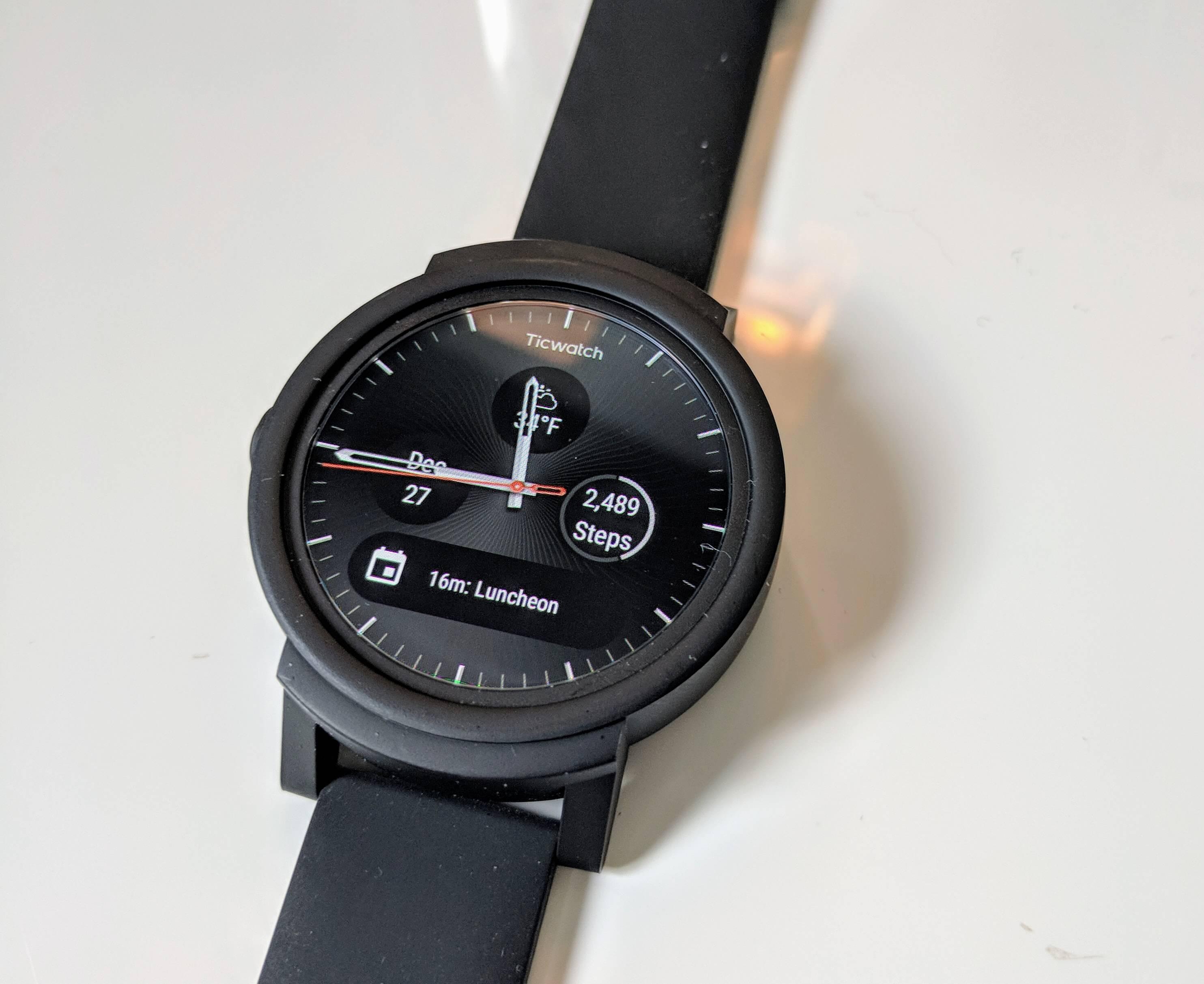 The Mobvoi Ticwatch E