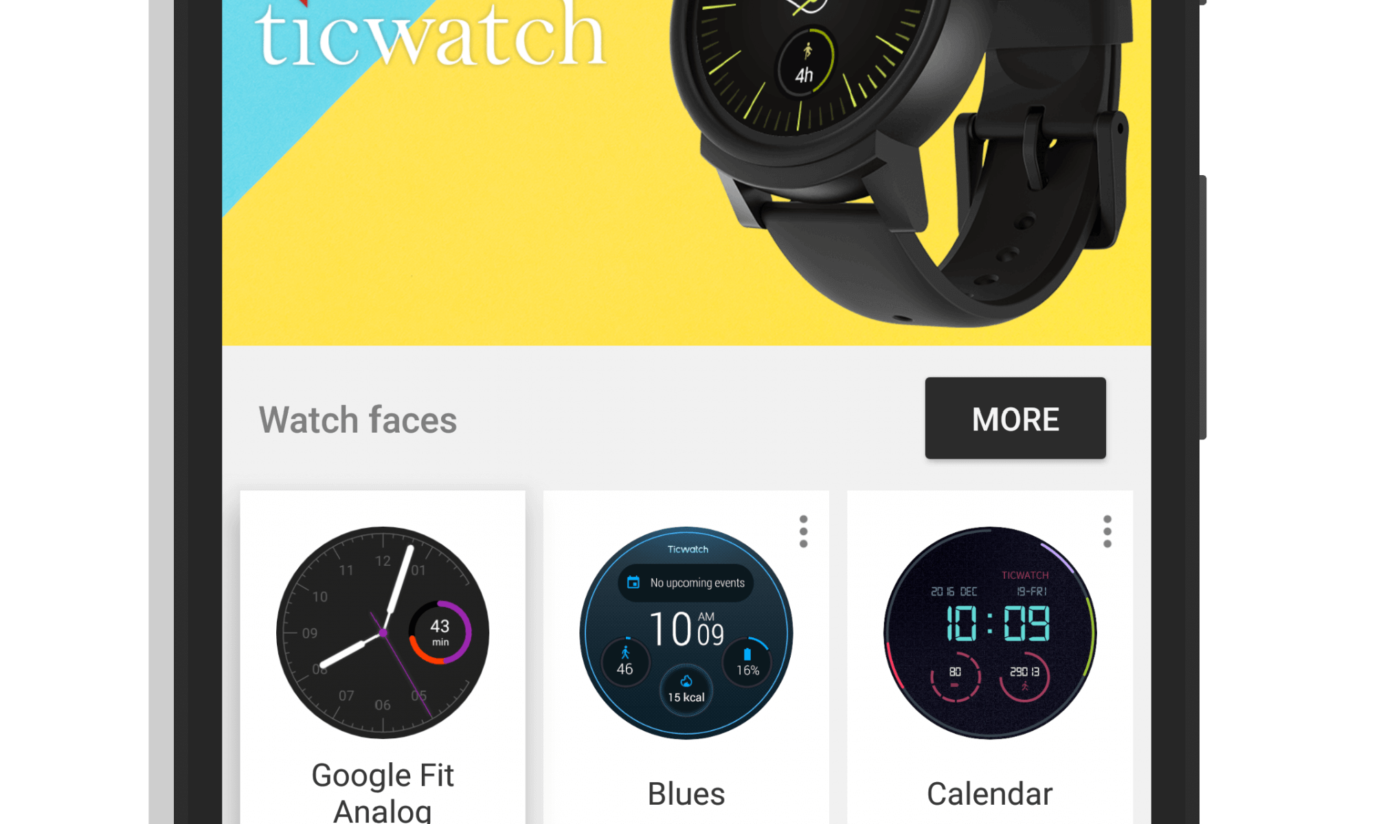 Android Wear app for Android