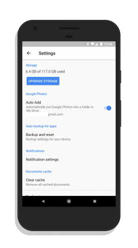 Enabling the Google Photos Folder in Google Drive
