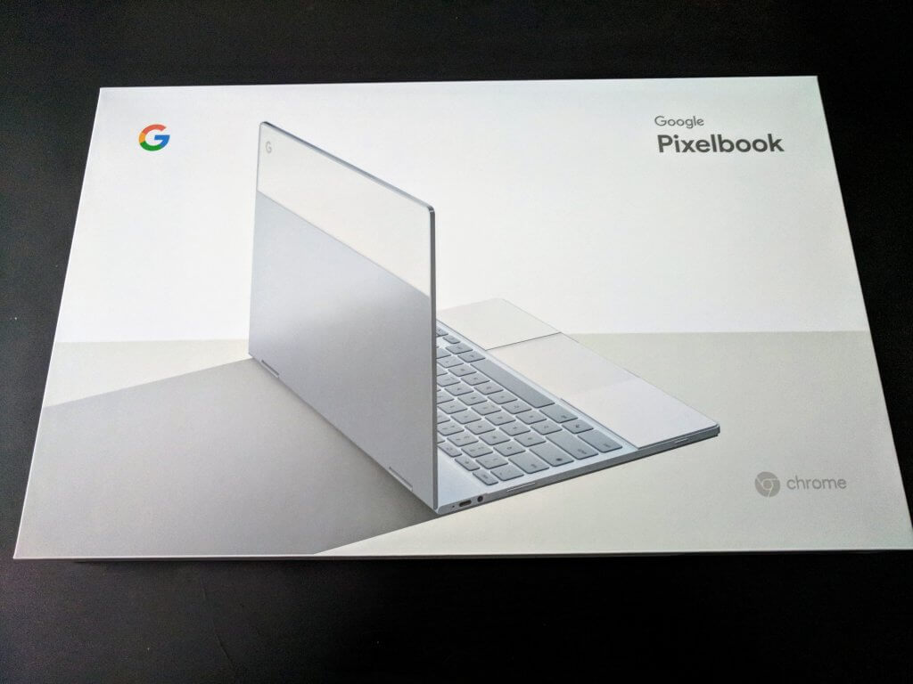 Google Pixelbook Box