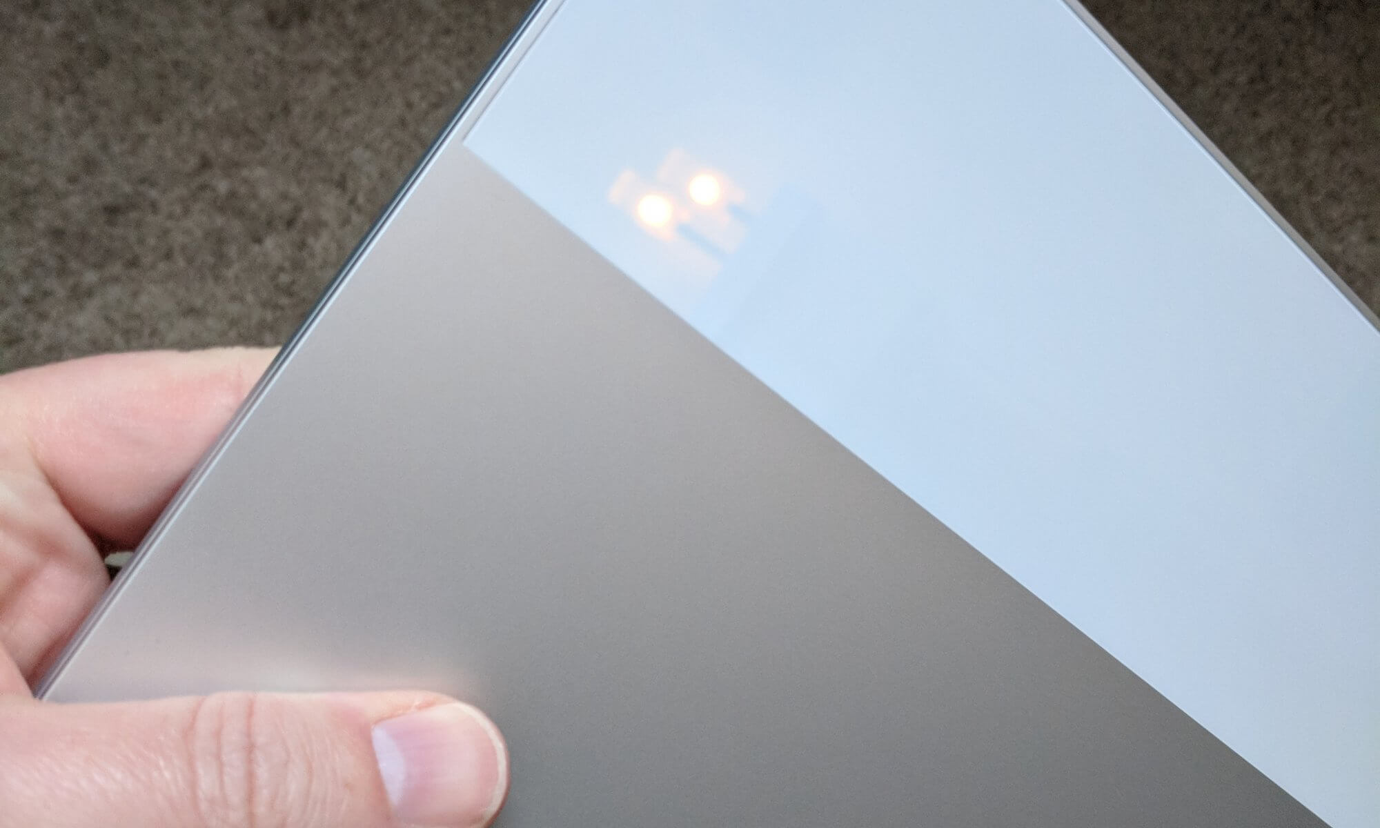 Google Pixelbook Glass Detail