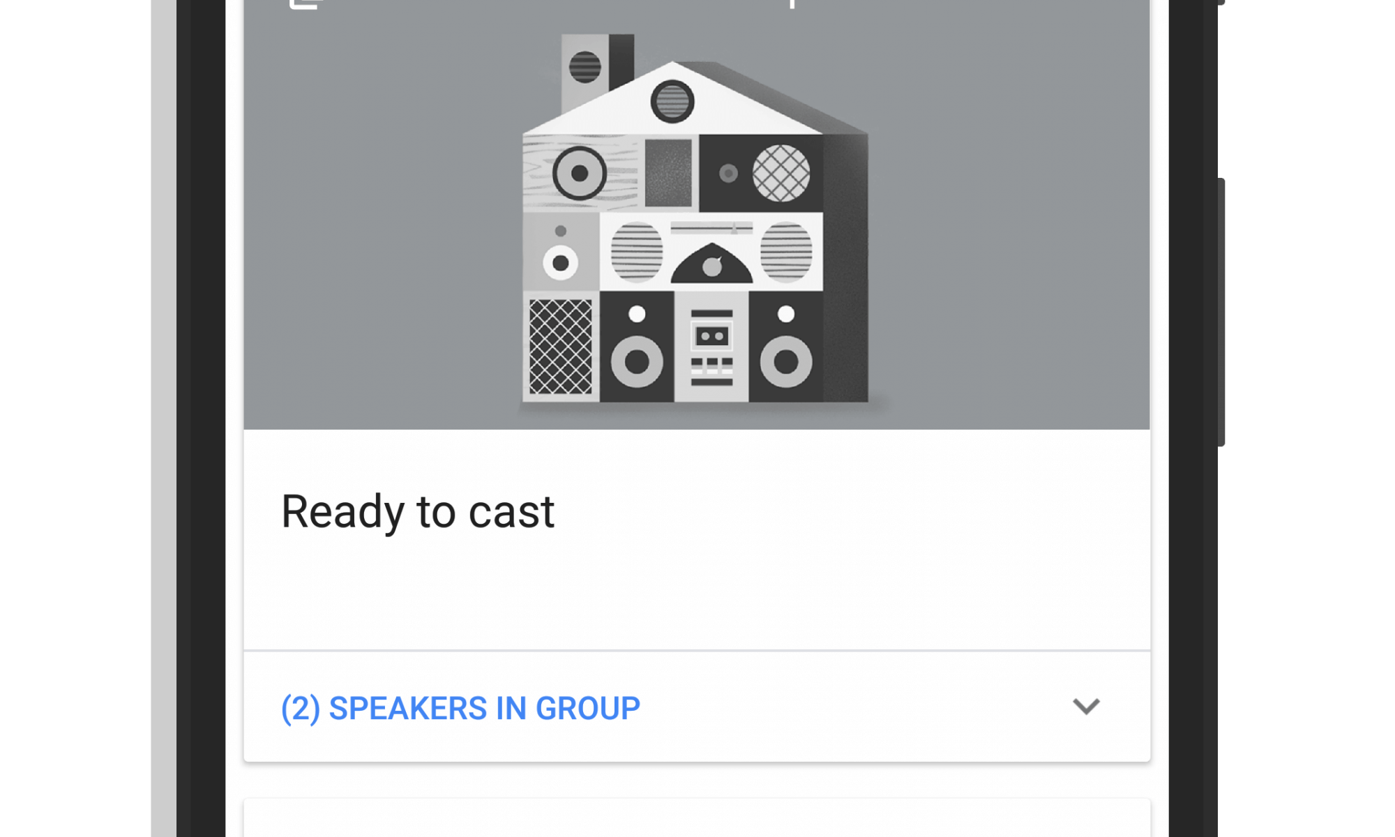 My Google Home Group in the Home App
