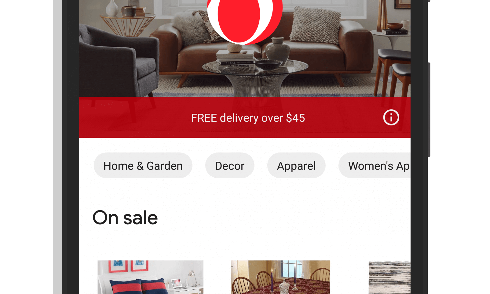 Overstock on Google Express