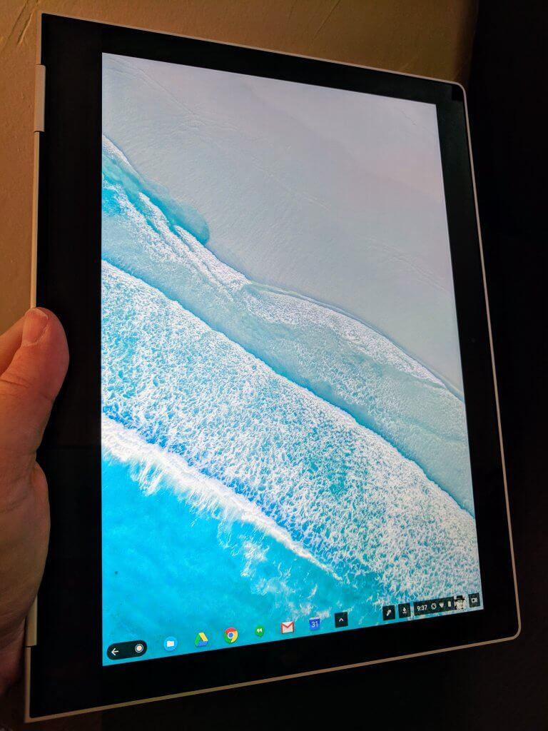 Pixelbook in Tablet Mode