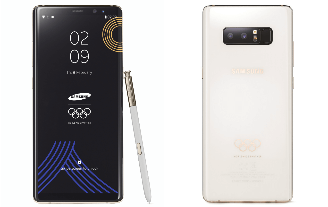 Samsung Galaxy Note8 Olympic Games Edition