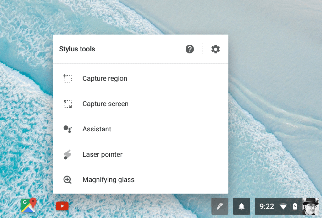 Stylus Tools When Using The Pixelbook Pen