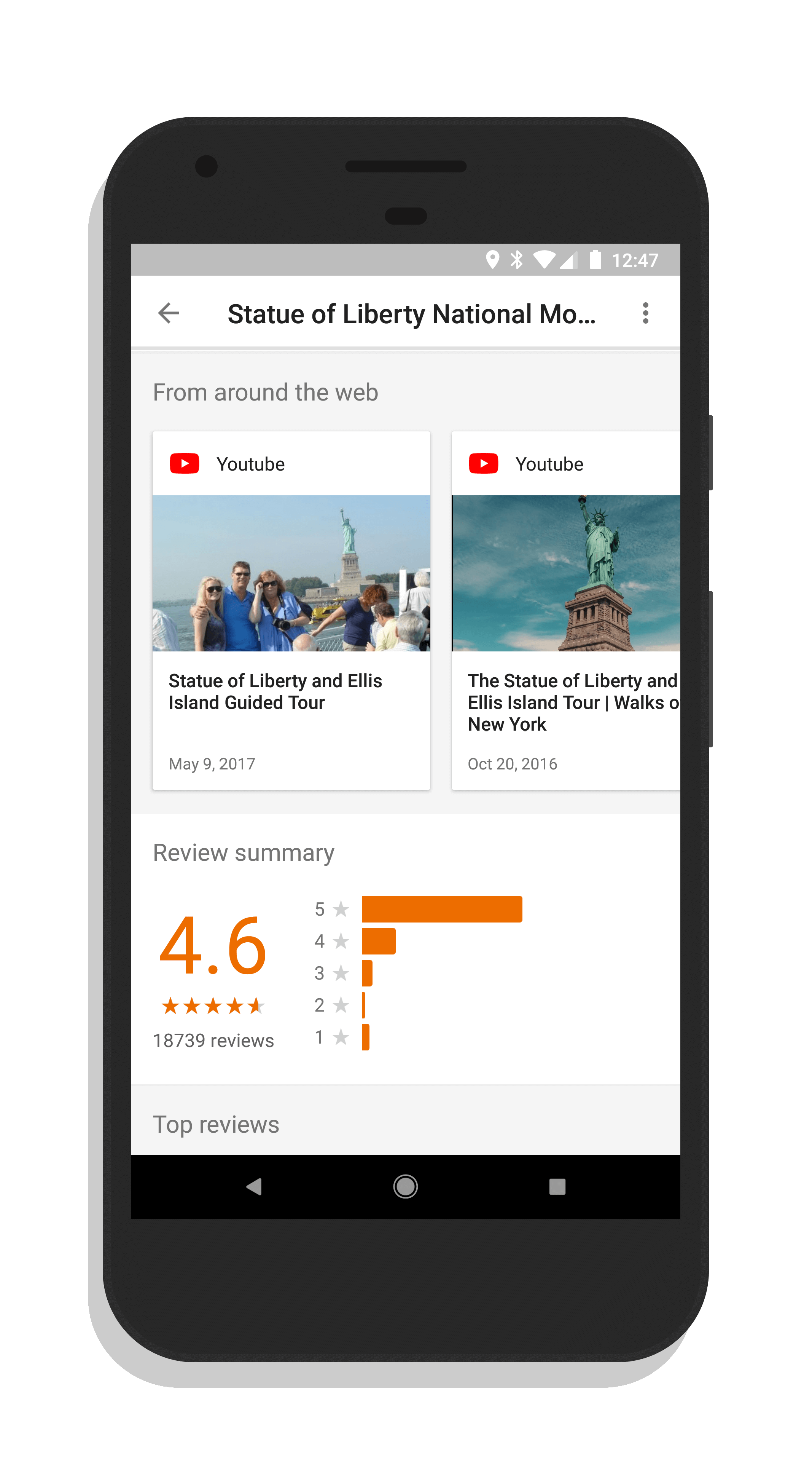 Google Trips Update Brings Video and Blogger Content to Sites