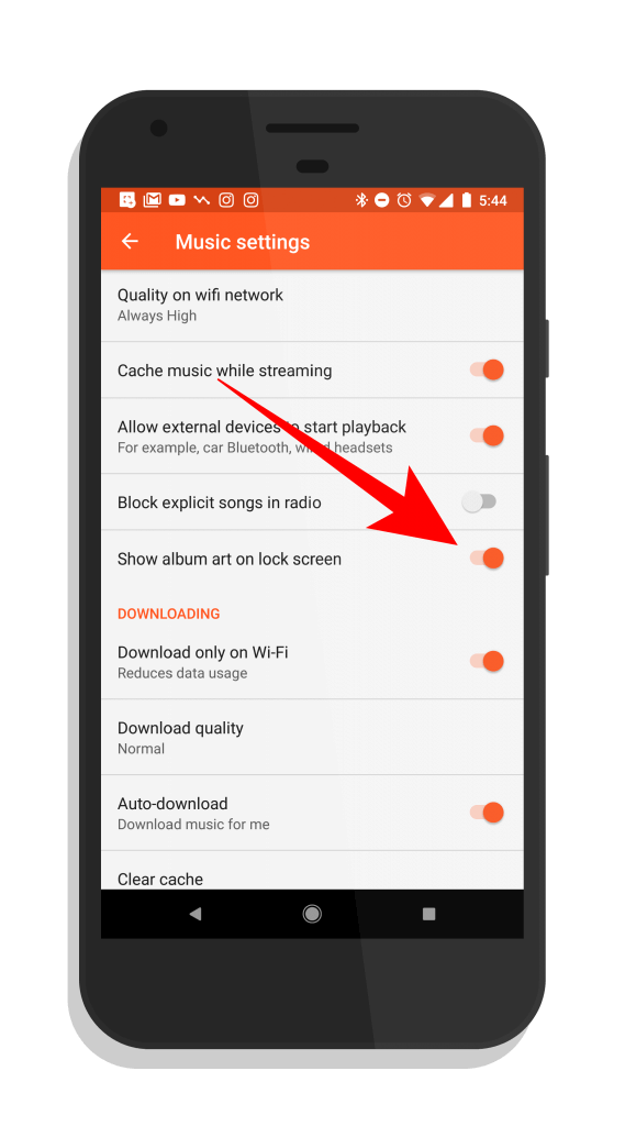 Disable Album Art on the Lock Screen in Google Play Music