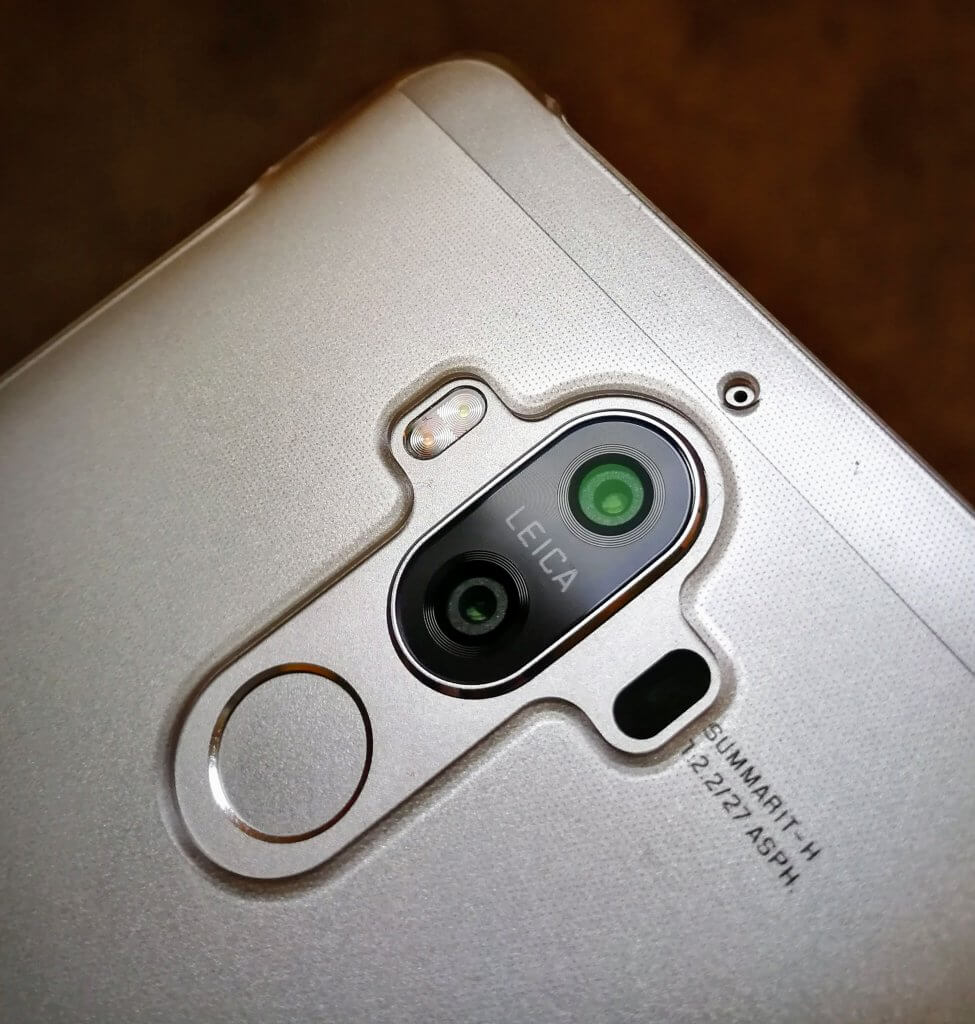 Dual Leica cameras of the Mate 9
