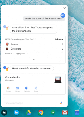 Google Assistant Integration