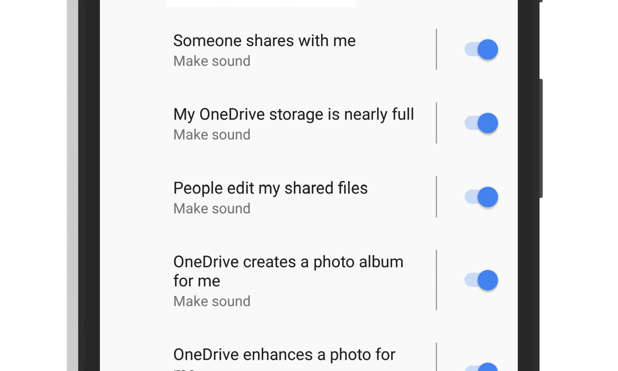 Notification Channel Support in Microsoft OneDrive