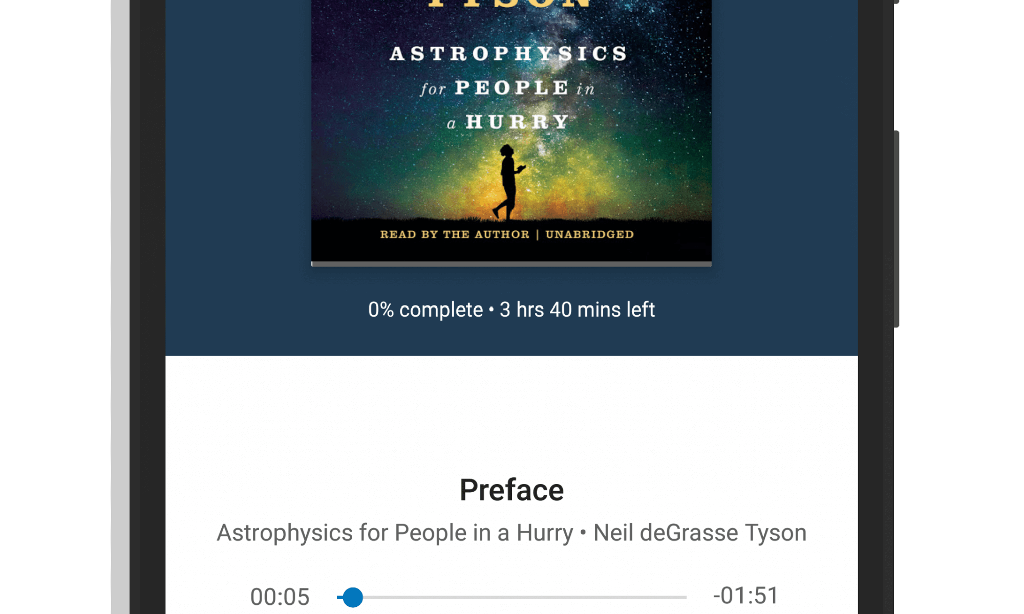 Audiobooks in Google Play Books