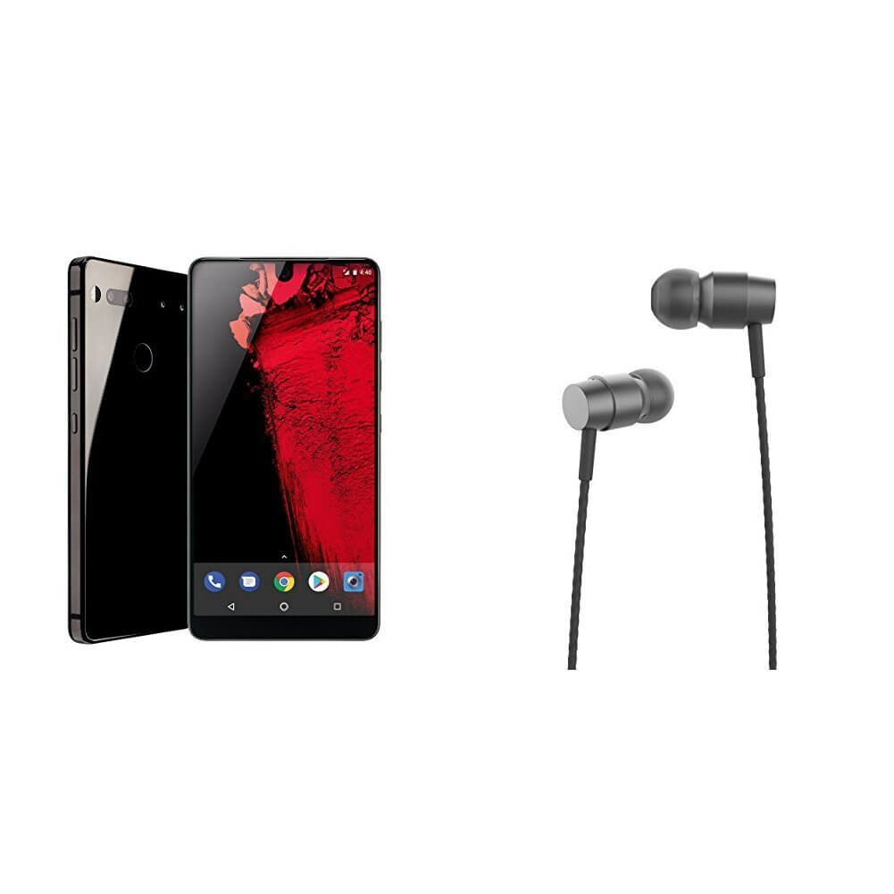 Essential Phone with Essential Ear Buds