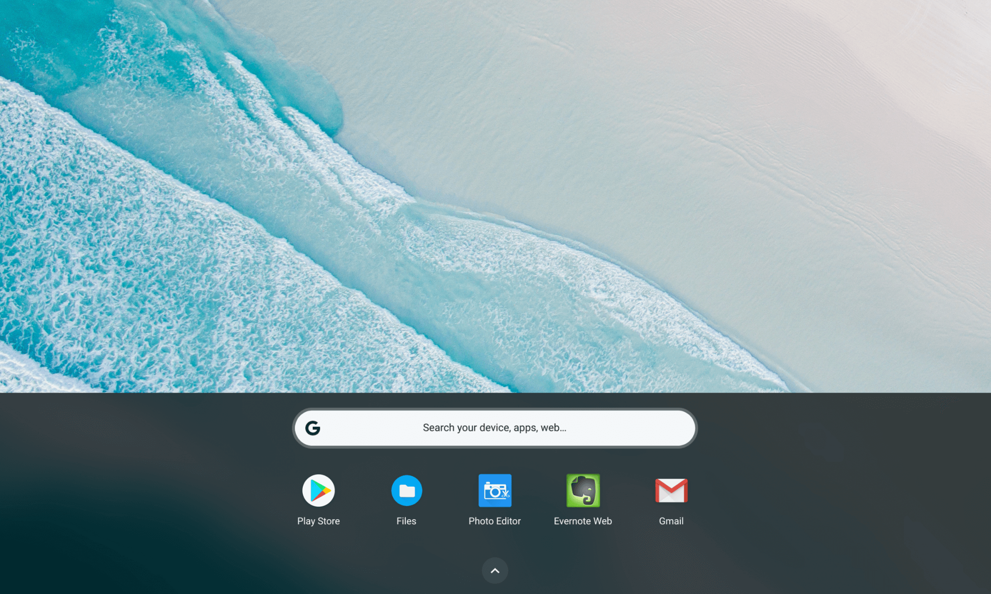 Google Pixelbook Chrome OS Interface