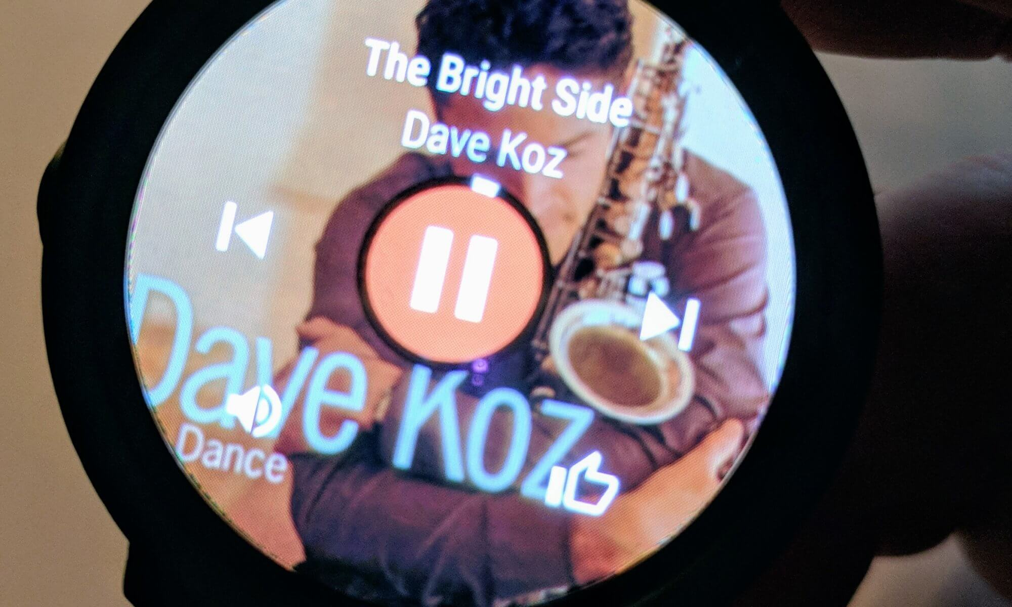 Google Play Music on Wear OS