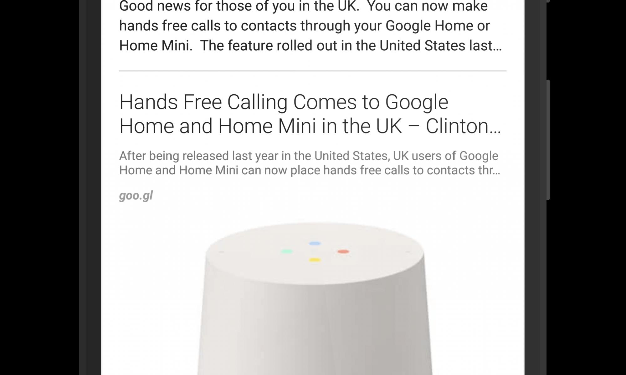 Google+ White Navigation