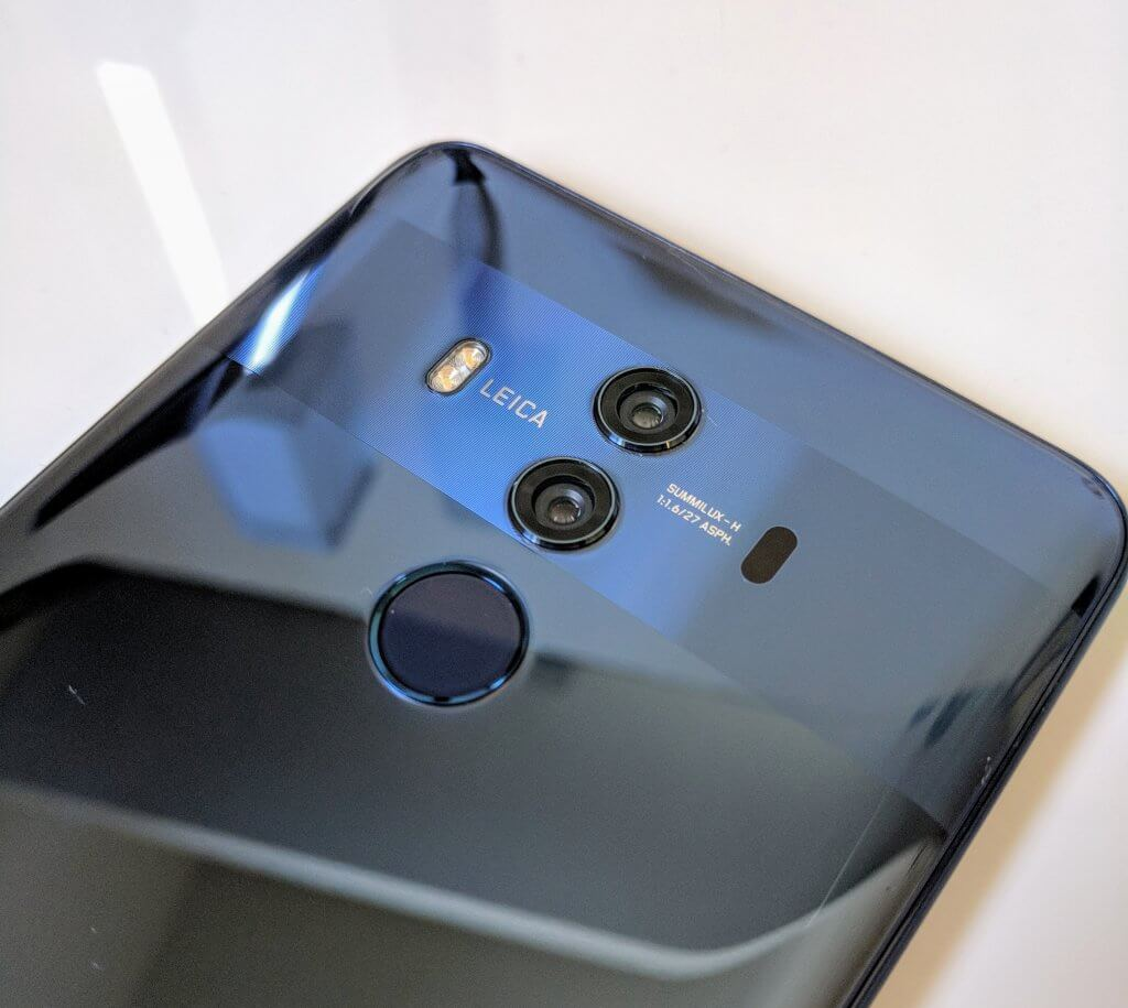Mate 10 Pro Rear Camera and Fingerprint Scanner Configuration