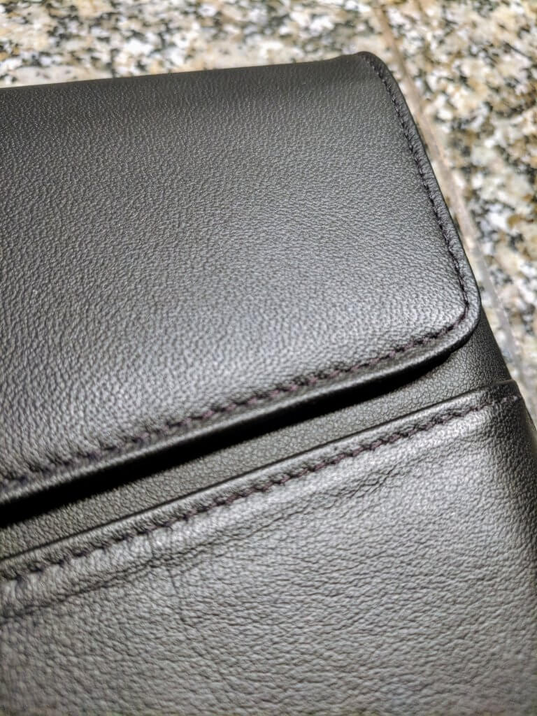 Stitching Detail of the Noreve Laptop Sleeve