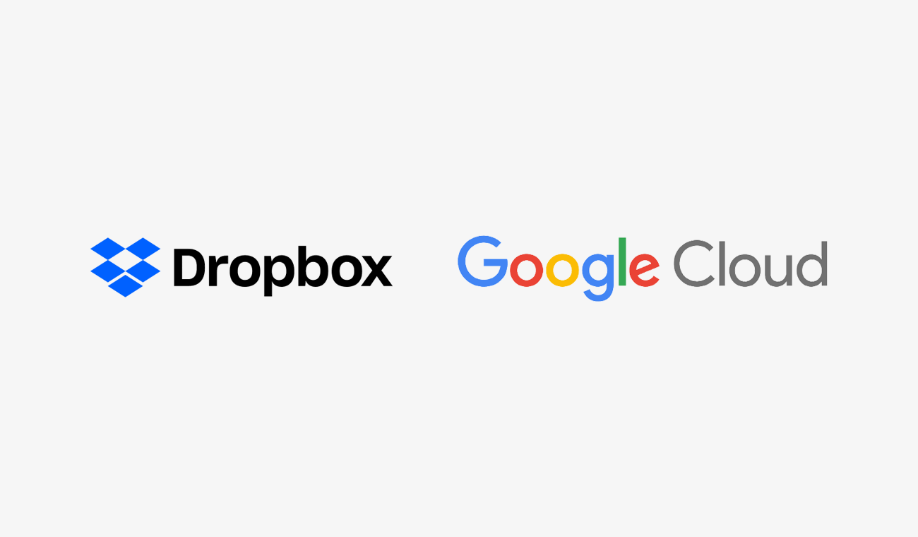 Dropbox and Google Cloud